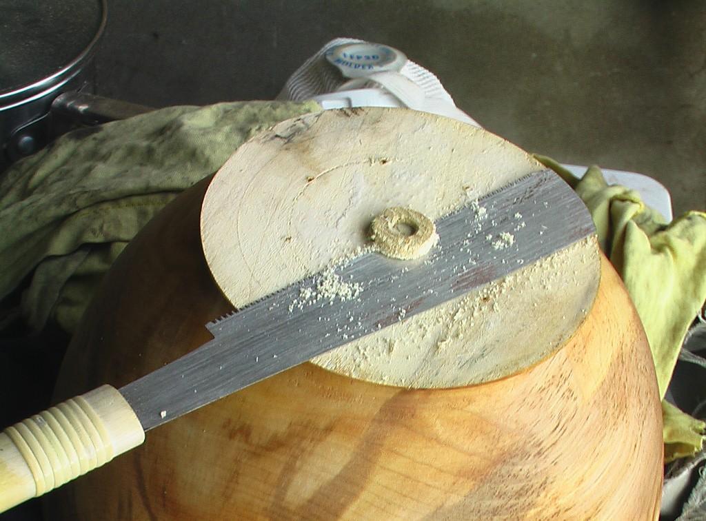 bowl underside