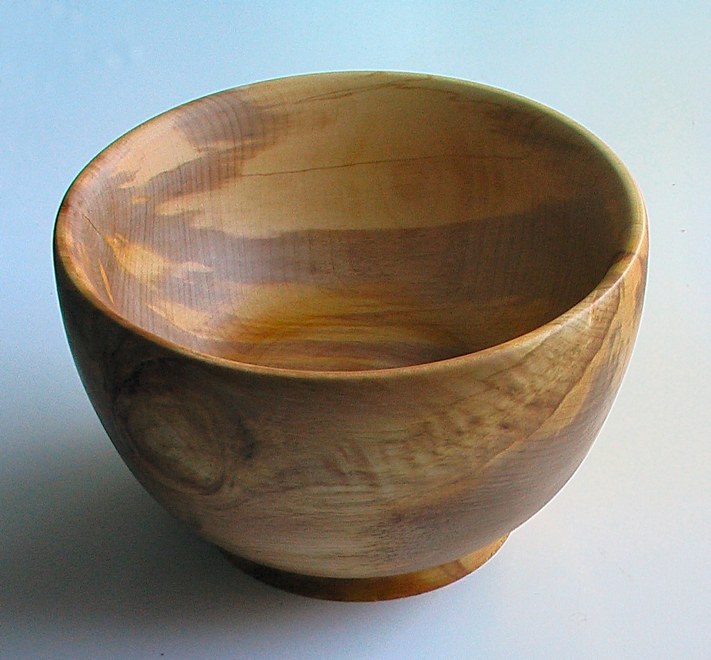 The completed bowl