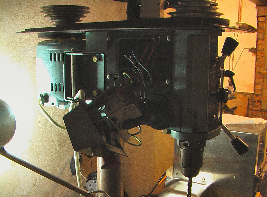 pillar drill electrics