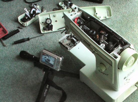 Sewing Machine to Scroll Saw