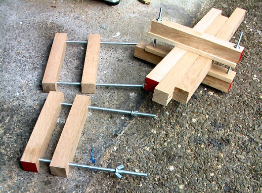 homemade clamps