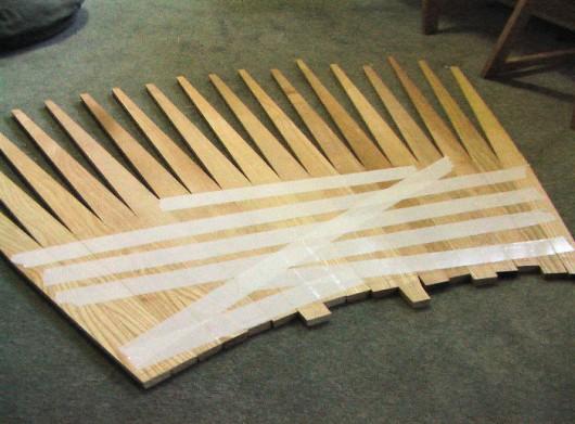 The drum slats
