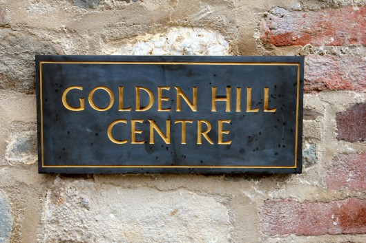 The golden hill centre opens to the public