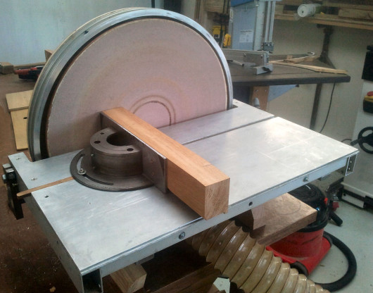 Large Home Made Disc Sander