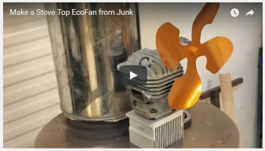 Watch the video on how to make a stove top ecofan