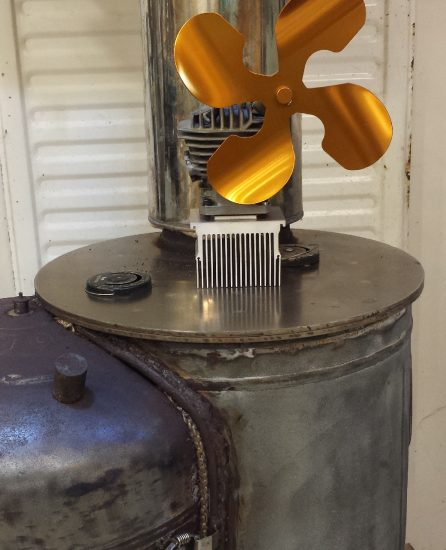 Making A Stove Top Fan From Junk