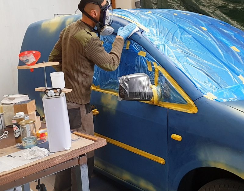 Spray Paint Your Own Car Or Van In A
